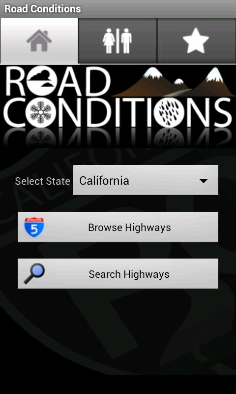 Road Conditions- screenshot
