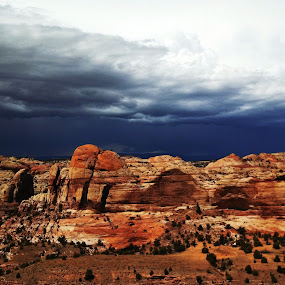 Storm Coming by Teresa Daines - Instagram & Mobile Android ( clouds, southwest, red rocks, storm, , #GARYFONGDRAMATICLIGHT, #WTFBOBDAVIS )
