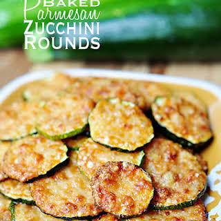 Baked Parmesan Zucchini Rounds.
