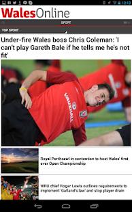 Wales Online App - screenshot thumbnail