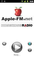 Screenshot of Apple-FM Radio