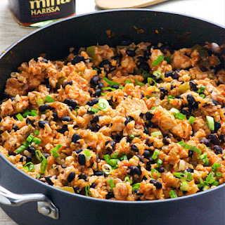 """Clean Eating Chicken, Beans and Cauliflower """"Rice"""""""