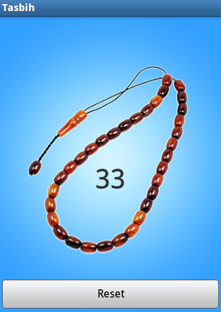 Tasbih- screenshot