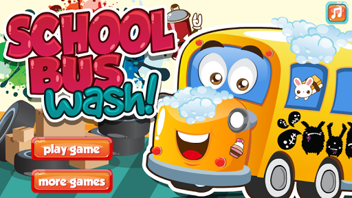 玩休閒App|School Bus Car Wash免費|APP試玩
