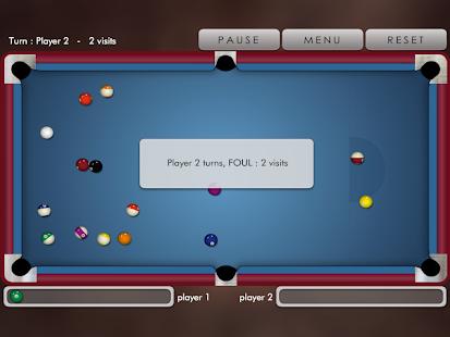 Pool billiard ! - screenshot thumbnail