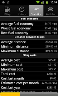 Mileage - screenshot thumbnail
