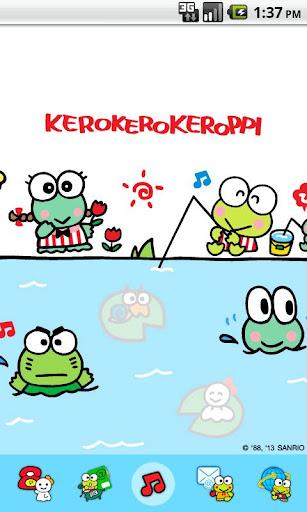 Kero Keroppi Fishing Theme