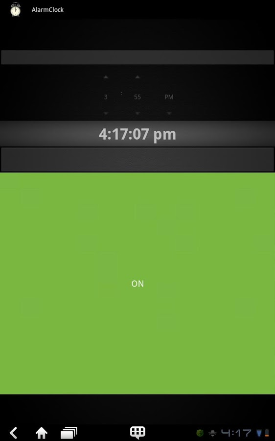 AlarmClock - screenshot
