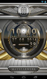 Digi Clock Widget Iridium APK screenshot thumbnail 2