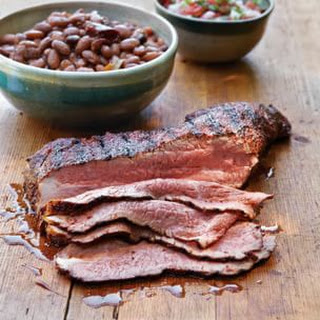 Chili-Rubbed Smoked Tri-Tip