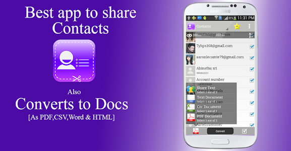 Contacts to Text Pro v1.1.3