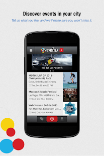 Eventtus - Events Social Guide - screenshot thumbnail