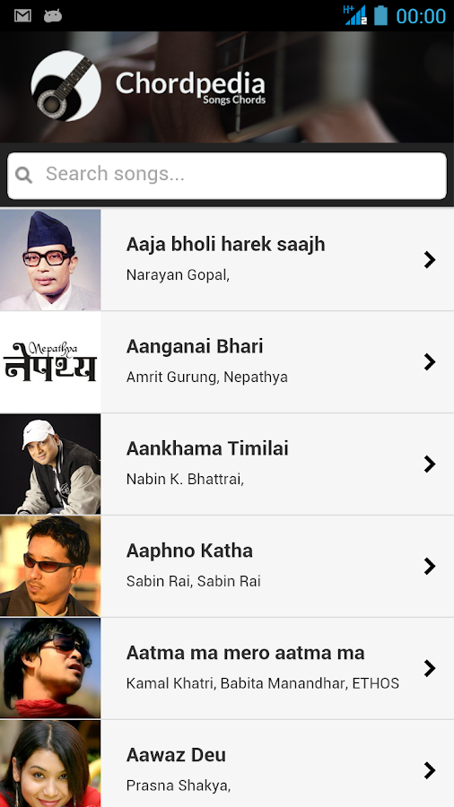 Chordpedia: Nepali Songs Chord - Android Apps on Google Play
