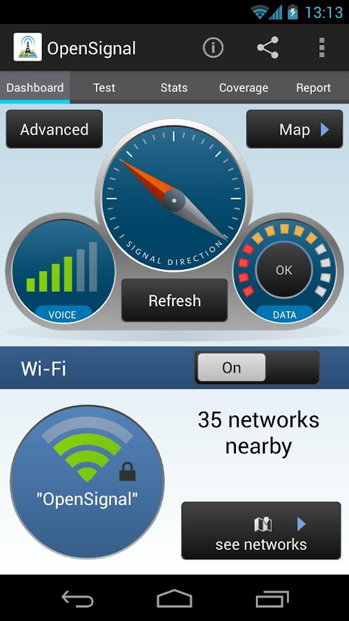3G/4G/LTE/WiFi Coverage Maps - screenshot