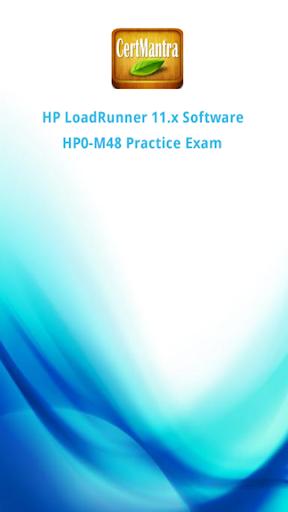 HP LoadRunner 11x HP0-M48 Prep