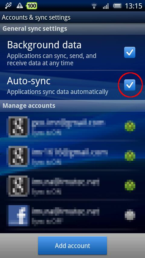 SmartSync - screenshot