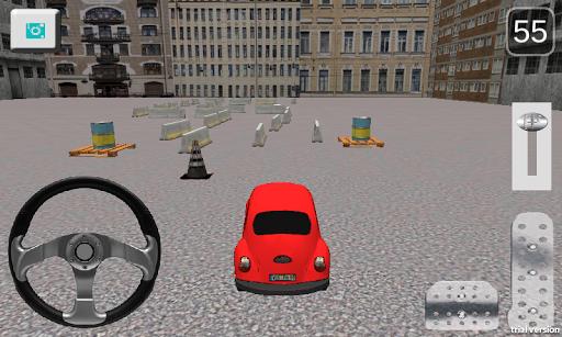 玩免費模擬APP|下載甲壳虫停车场 app不用錢|硬是要APP