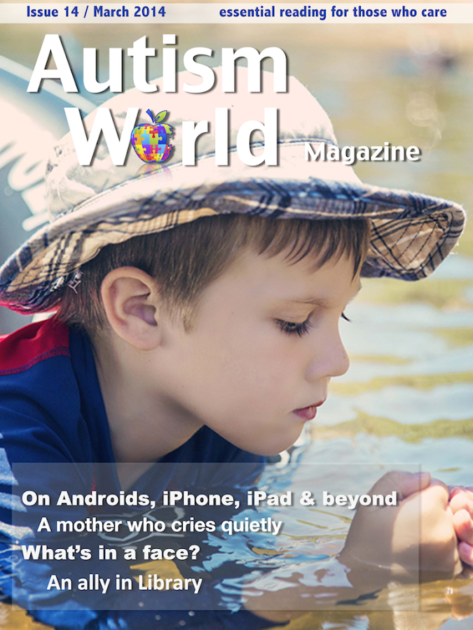 Autism World Magazine- screenshot