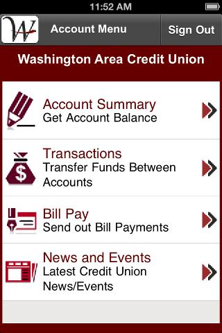 Washington Area Credit Union