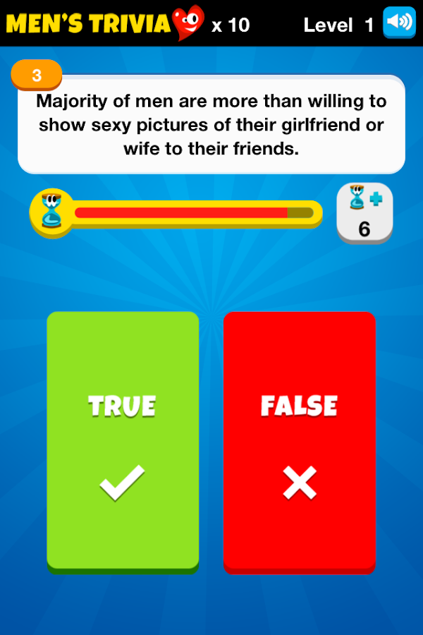 Men's Trivia™ - Play Now! - screenshot