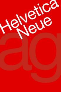 Helvetica Neue FlipFont- screenshot thumbnail