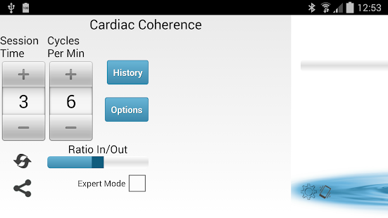 Cardiac Coherence screenshot