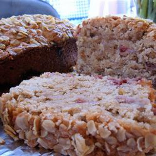 Oatmeal Strawberry Bread