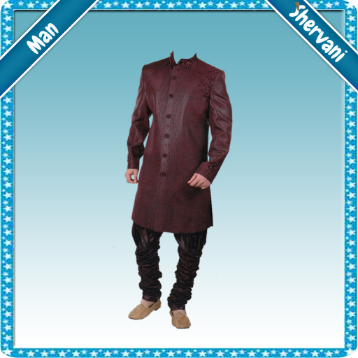 Man Sherwani Photo Suit