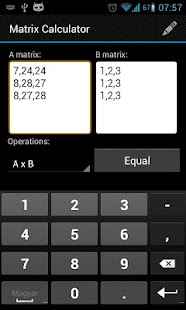 Matrix Calculator - screenshot thumbnail