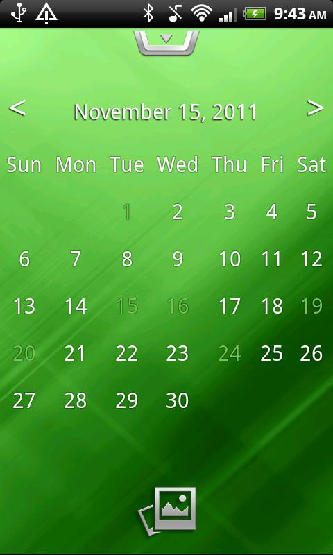 Calendar 4U - screenshot