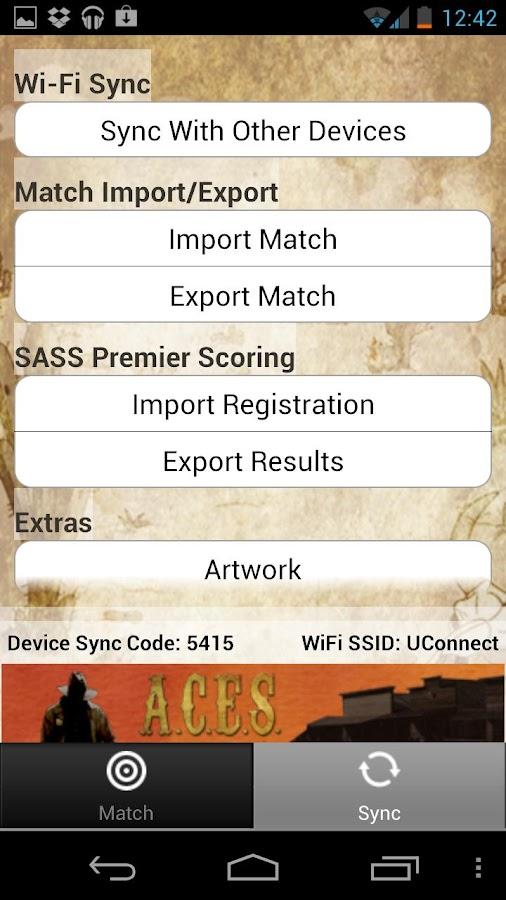ACES- screenshot