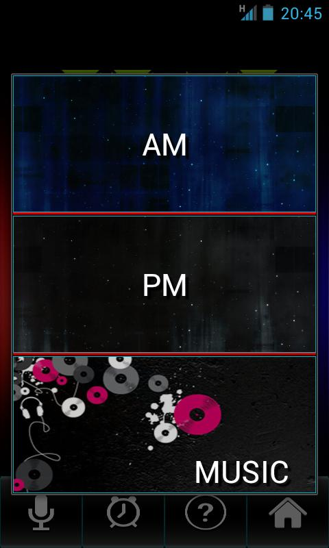 Talk Clock - screenshot