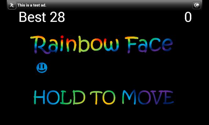 Rainbow Face - screenshot