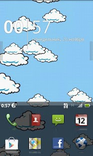 Little Clouds (Live Wallpaper) - screenshot thumbnail