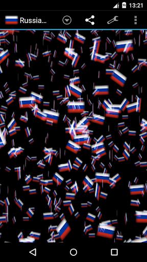 Russia Storm 3D Wallpaper