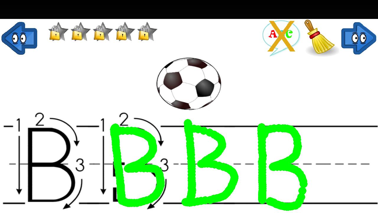 ABC 123 Writing : 子供 英語 無料 : 子供