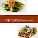 Keeping shape logo