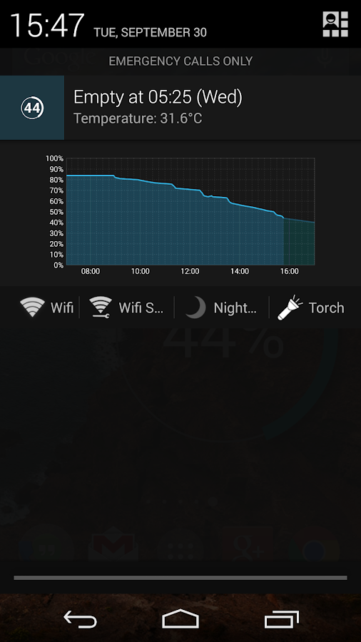Battery Widget Reborn - screenshot