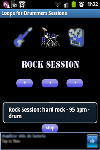 Loops for drummers sessions - screenshot
