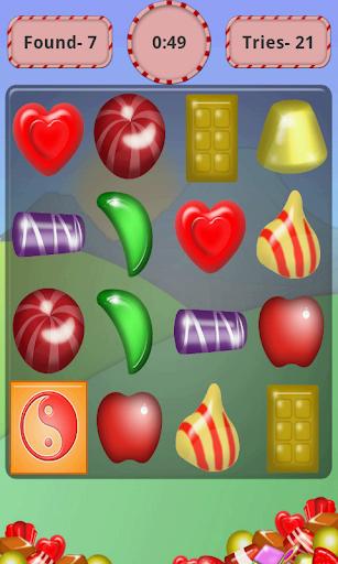 【免費街機App】Candy Memory Matchup-APP點子