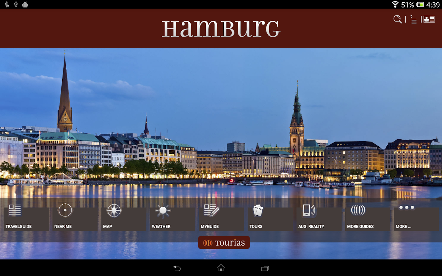 hamburg travel guide tourias android apps on google play. Black Bedroom Furniture Sets. Home Design Ideas