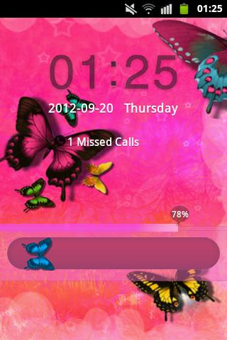 GO Locker Pink Butterfly Buy