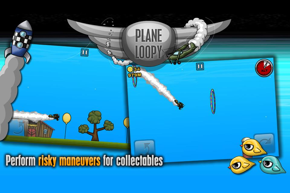 Plane Loopy- screenshot