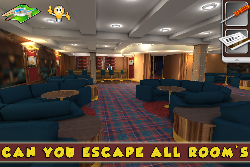 Can you escape 3D: Cruise Ship- screenshot