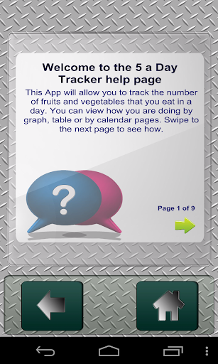 5 a day Tracker Mobile Edition
