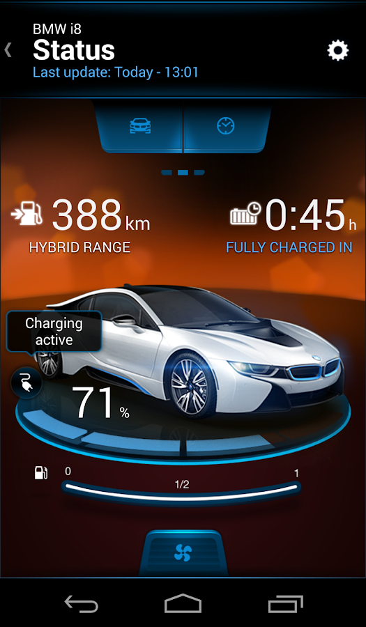 BMW i Remote- screenshot
