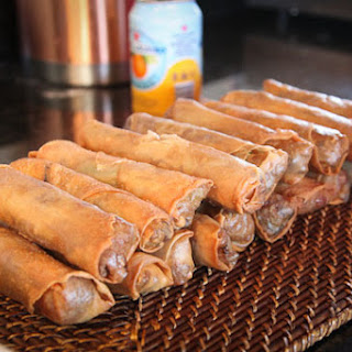 Five-Spice Duck Confit Spring Rolls with Soy-Sour Cherry Compote Recipe