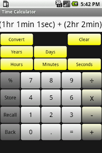 Time Calculator - screenshot thumbnail
