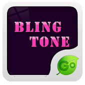 GO Keyboard Bling tone theme