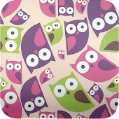 owl patterns wallpaper